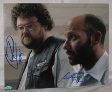 "A546SOA MICHAEL ORNSTEIN - ""CHUCKY"" & CHRIS REED - ""FILTHY"" ""SONS OF ANARCHY"" DUAL SIGNED"